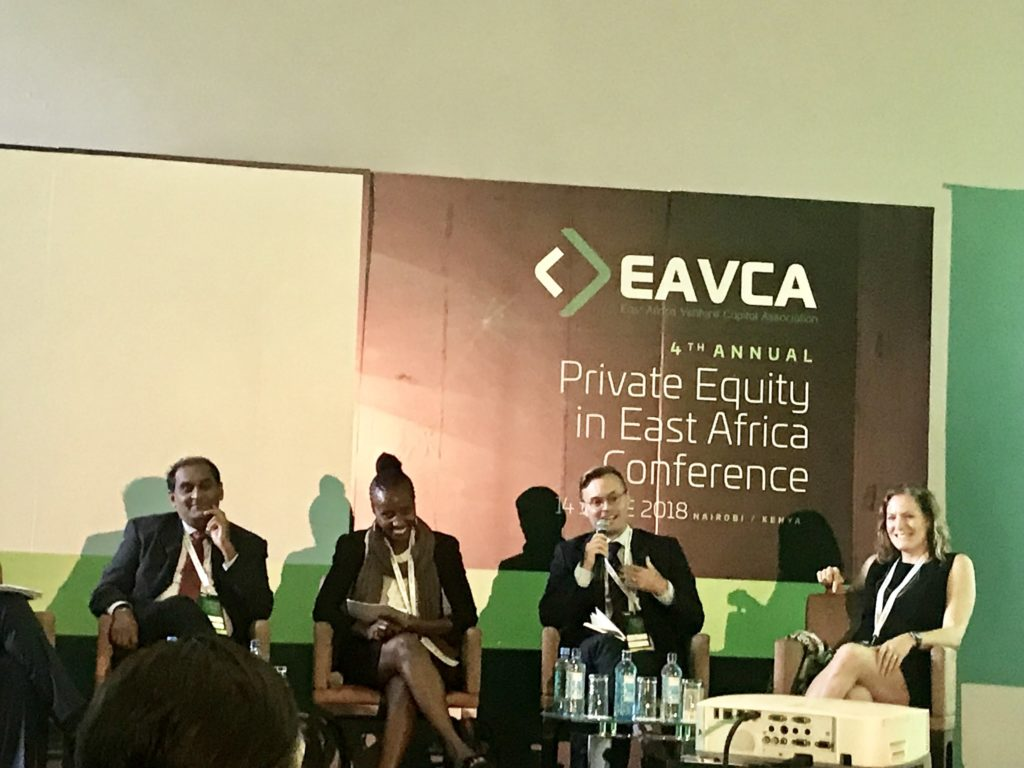 Matt Tilleard our co-Managing Partner at the EAVCA 4th Annual Conference